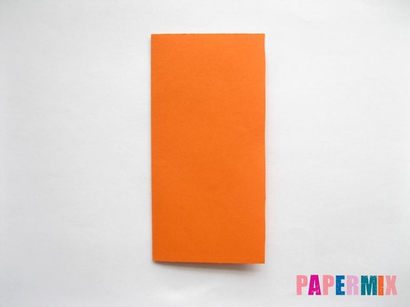 Как сделать стол из бумаги (оригами) поэтапно - шаг 1