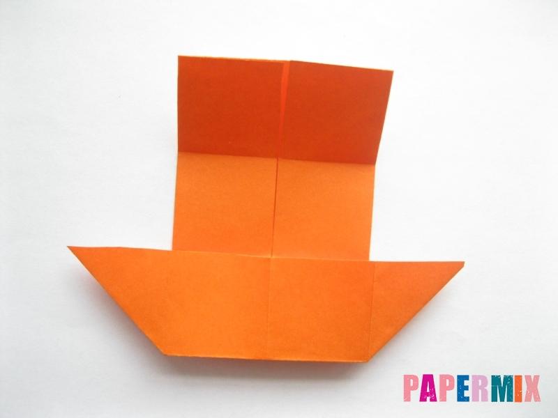 Как сделать стол из бумаги (оригами) поэтапно - шаг 10
