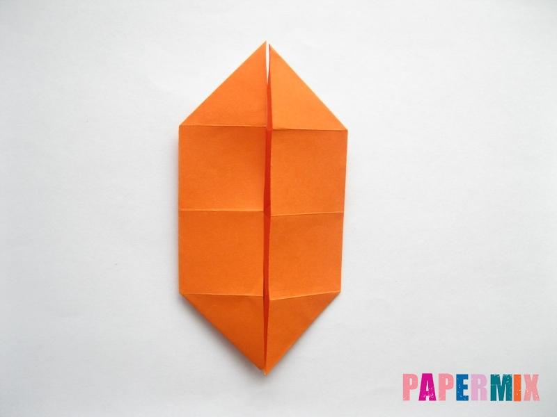 Как сделать стол из бумаги (оригами) поэтапно - шаг 12