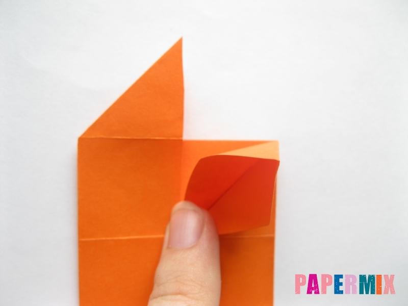 Как сделать стол из бумаги (оригами) поэтапно - шаг 14