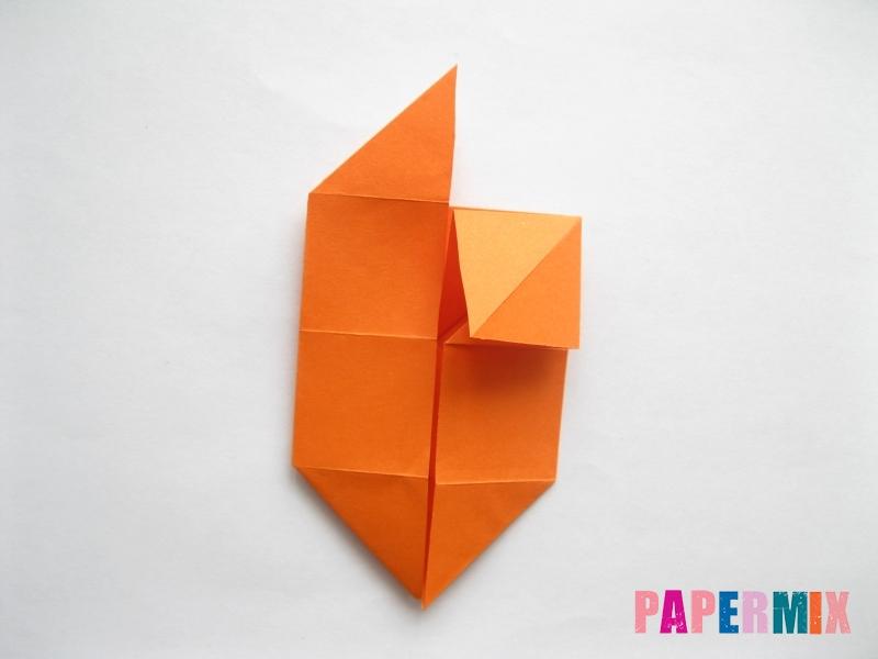 Как сделать стол из бумаги (оригами) поэтапно - шаг 15