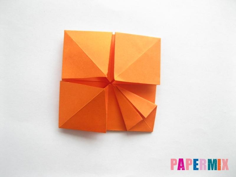 Как сделать стол из бумаги (оригами) поэтапно - шаг 17