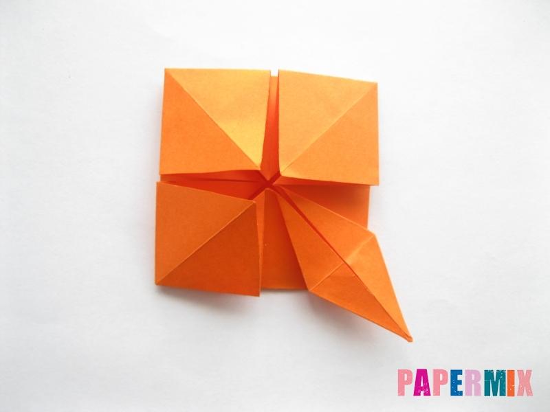 Как сделать стол из бумаги (оригами) поэтапно - шаг 19