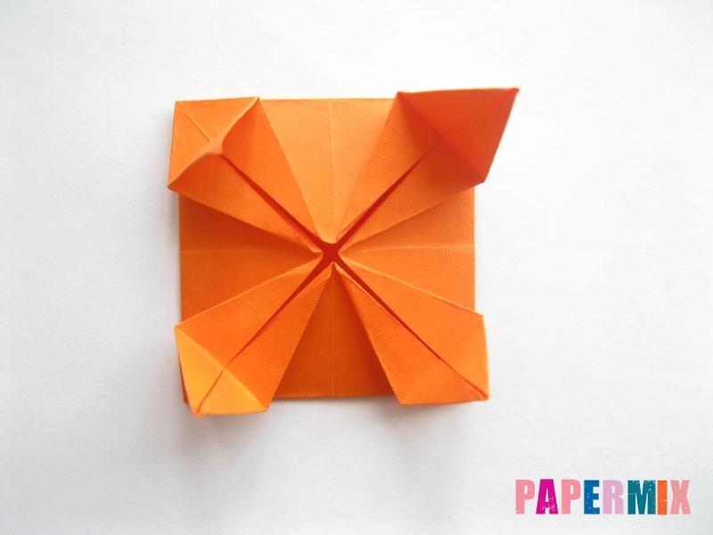 Как сделать стол из бумаги (оригами) поэтапно - шаг 21