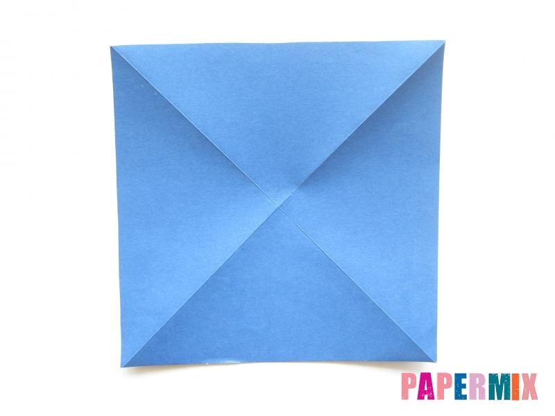 Как сделать стул из бумаги (оригами) поэтапно - шаг 1