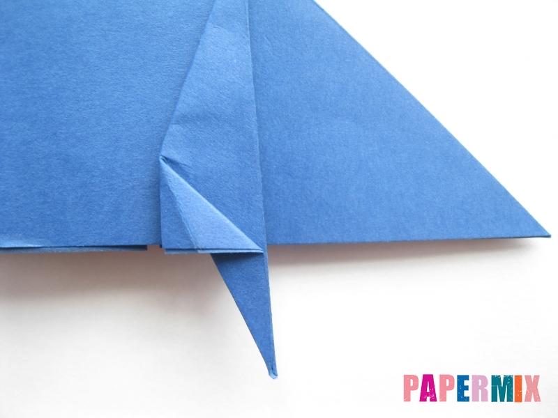 Как сделать стул из бумаги (оригами) поэтапно - шаг 11