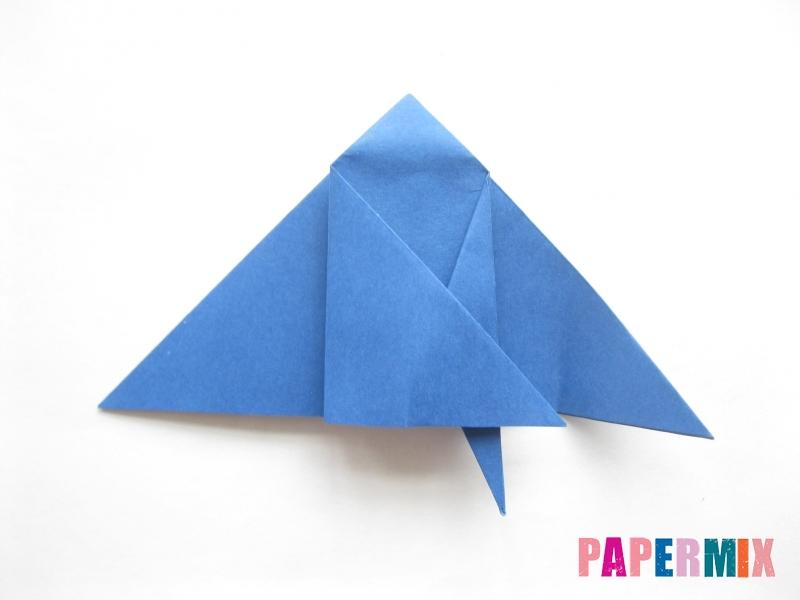 Как сделать стул из бумаги (оригами) поэтапно - шаг 14