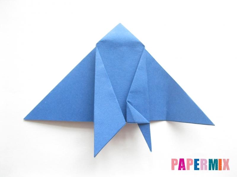 Как сделать стул из бумаги (оригами) поэтапно - шаг 15