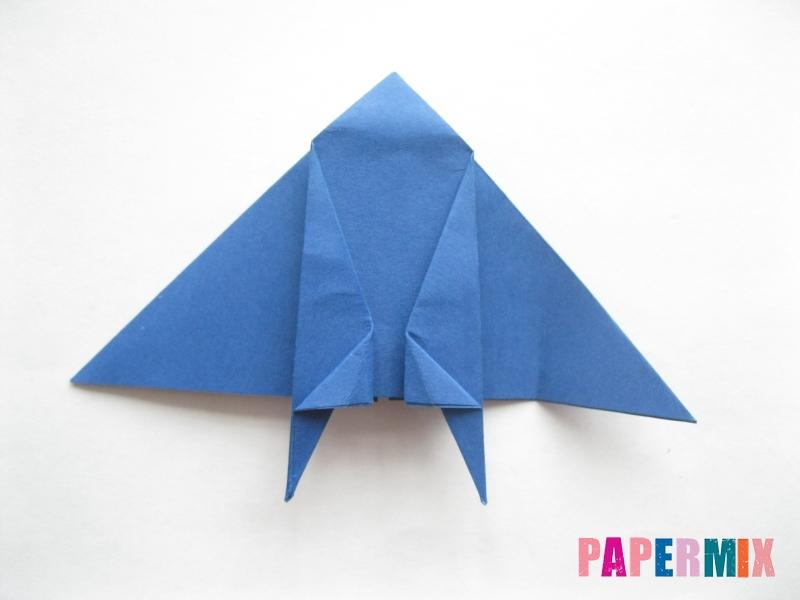 Как сделать стул из бумаги (оригами) поэтапно - шаг 17