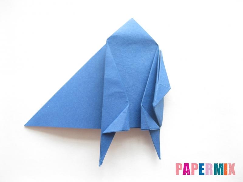 Как сделать стул из бумаги (оригами) поэтапно - шаг 24
