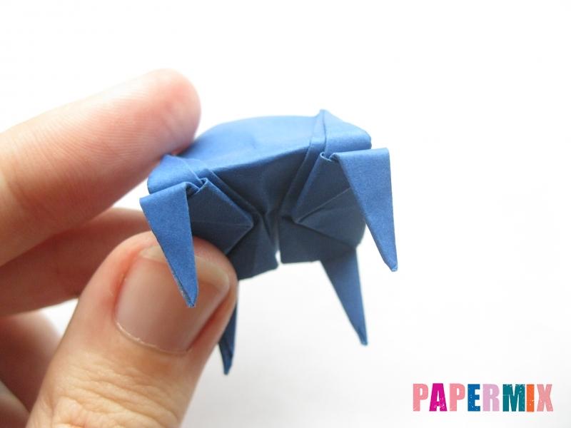 Как сделать стул из бумаги (оригами) поэтапно - шаг 27