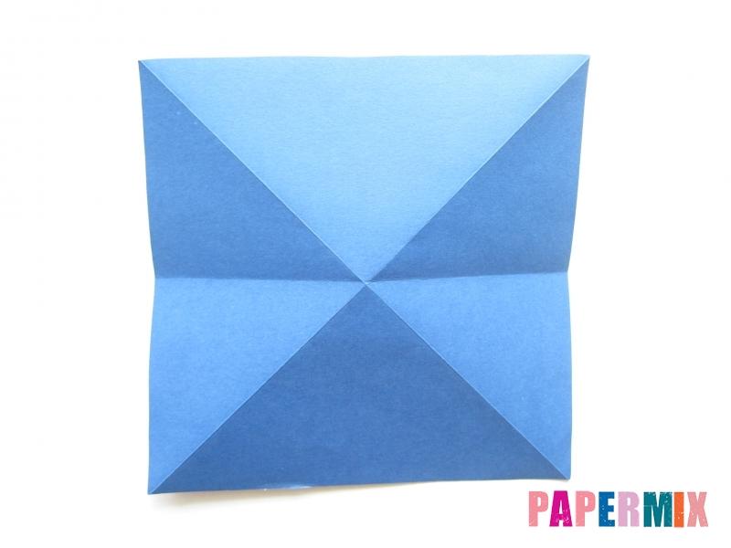 Как сделать стул из бумаги (оригами) поэтапно - шаг 3