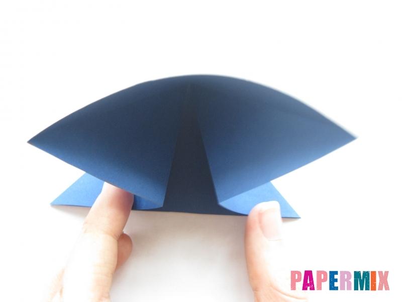 Как сделать стул из бумаги (оригами) поэтапно - шаг 4