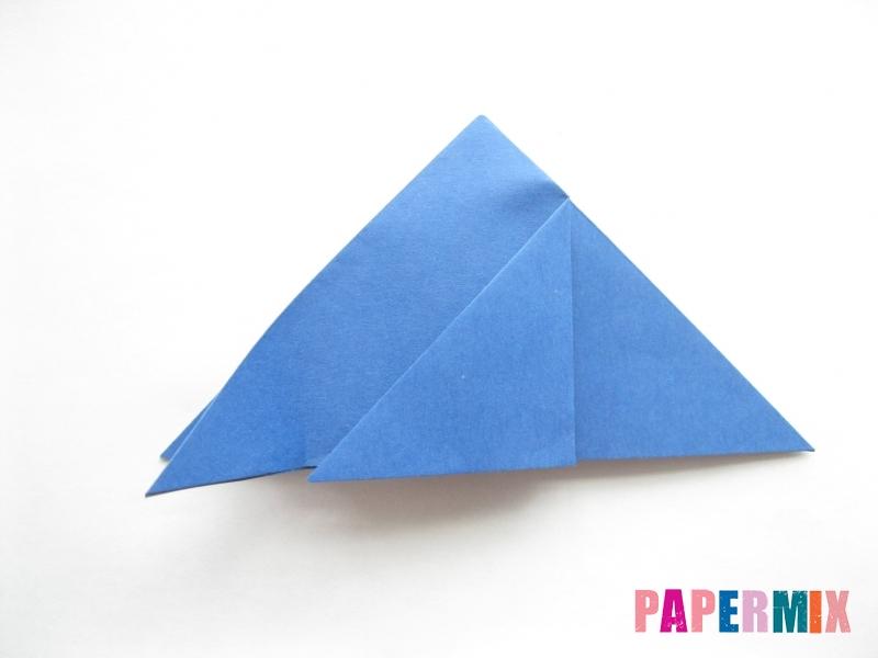 Как сделать стул из бумаги (оригами) поэтапно - шаг 6