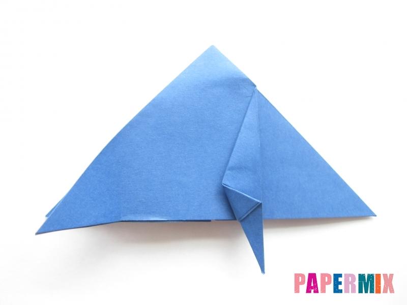 Как сделать стул из бумаги (оригами) поэтапно - шаг 8