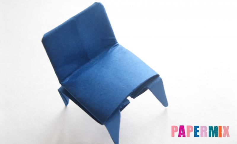 Как сделать стул из бумаги в технике оригами своими руками