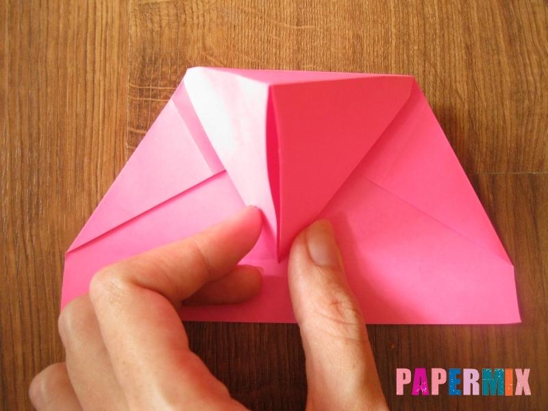 Как сделать тетраэдр из бумаги своими руками - шаг 15