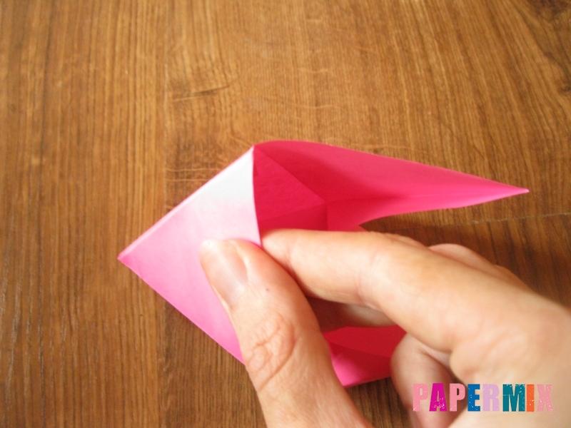 Как сделать тетраэдр из бумаги своими руками - шаг 16