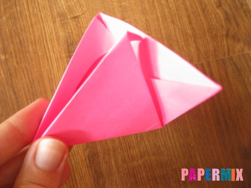 Как сделать тетраэдр из бумаги своими руками - шаг 17