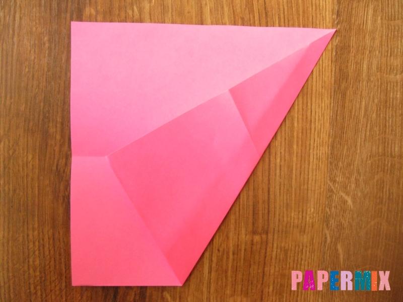 Как сделать тетраэдр из бумаги своими руками - шаг 2