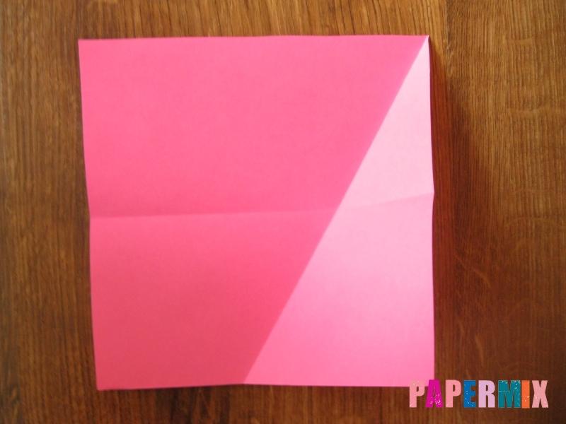 Как сделать тетраэдр из бумаги своими руками - шаг 3