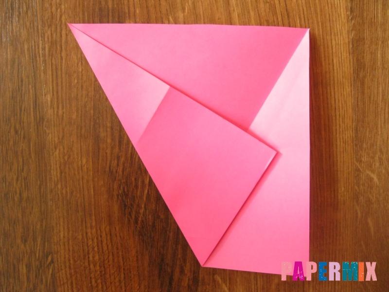 Как сделать тетраэдр из бумаги своими руками - шаг 4