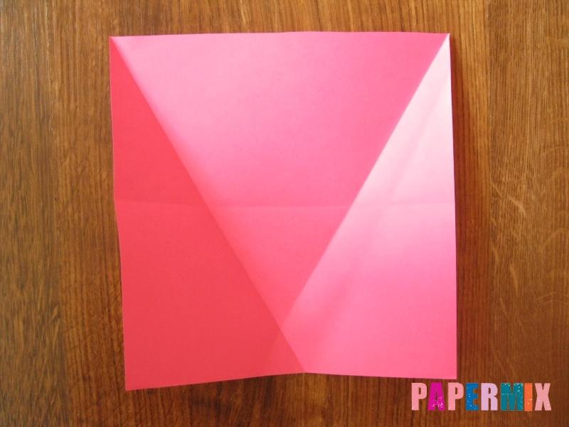 Как сделать тетраэдр из бумаги своими руками - шаг 5