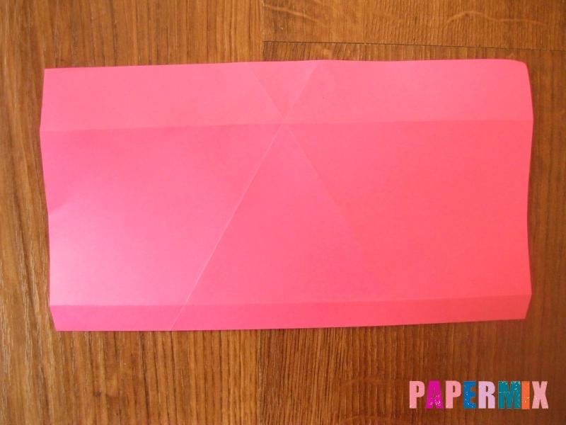 Как сделать тетраэдр из бумаги своими руками - шаг 8