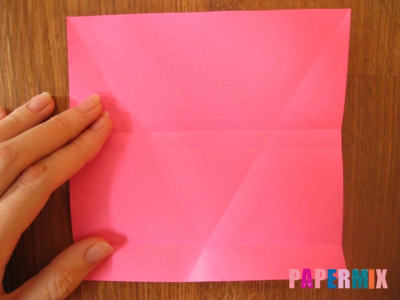 Как сделать тетраэдр из бумаги своими руками - шаг 9