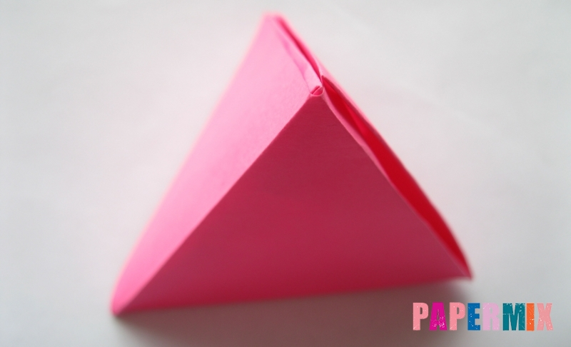 Как сделать тетраэдр из бумаги своими руками поэтапно