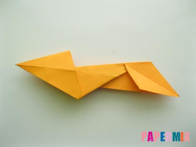 Как сделать туфли из бумаги (оригами) своими руками - шаг 18