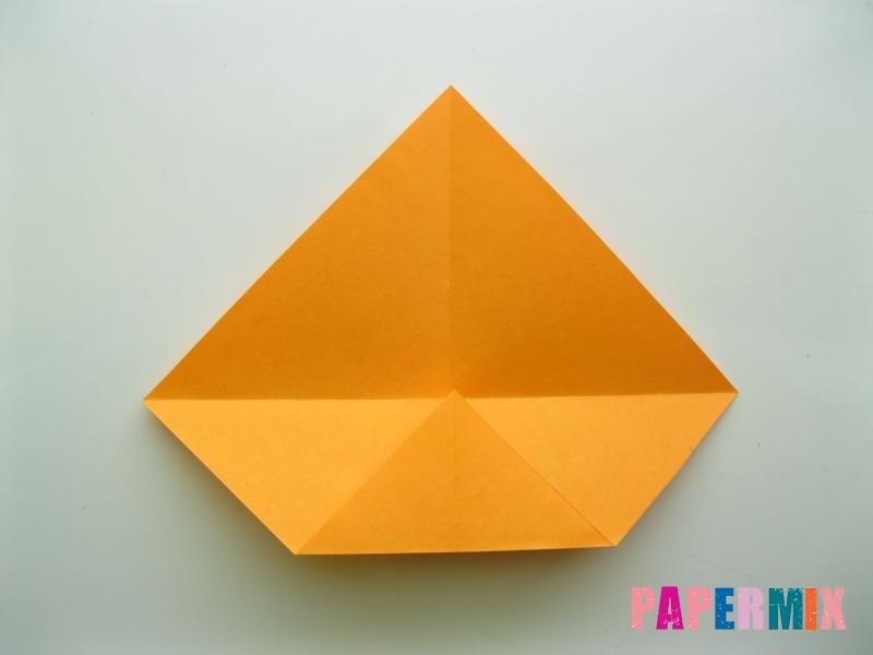 Как сделать туфли из бумаги (оригами) своими руками - шаг 2