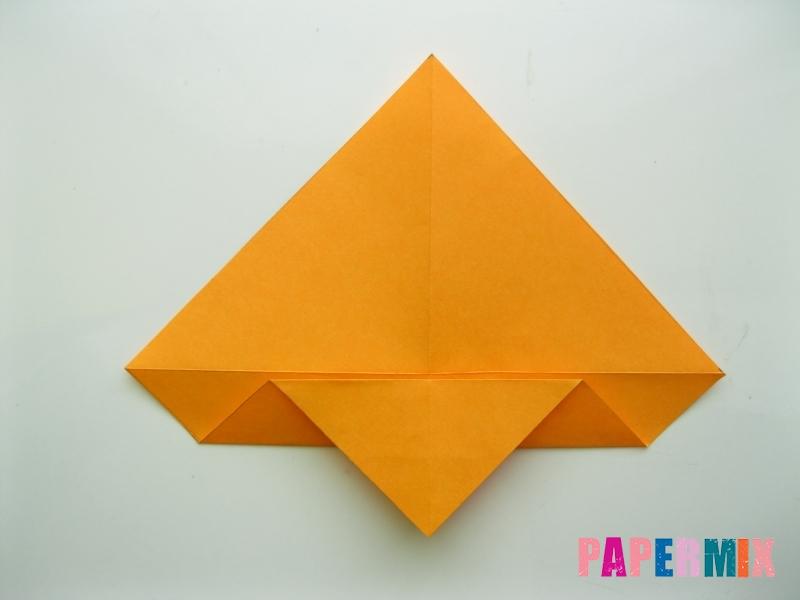 Как сделать туфли из бумаги (оригами) своими руками - шаг 5