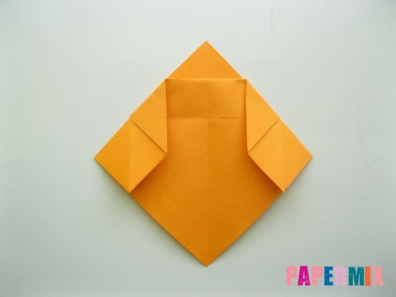 Как сделать туфли из бумаги (оригами) своими руками - шаг 7