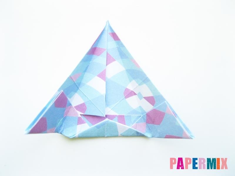 Как сделать зонтик из бумаги своими руками - шаг 10