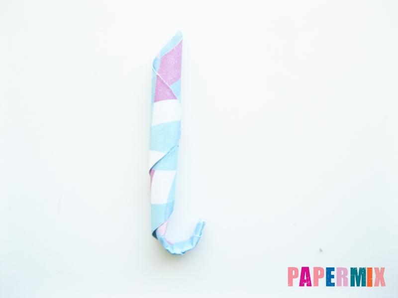 Как сделать зонтик из бумаги своими руками - шаг 13