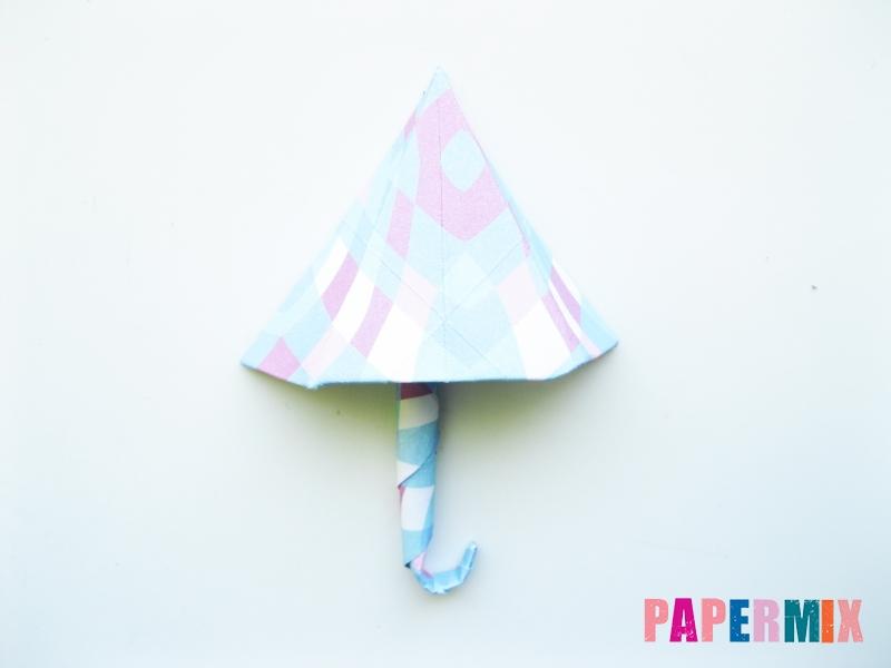 Как сделать зонтик из бумаги своими руками - шаг 14