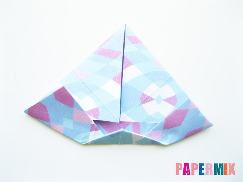 Как сделать зонтик из бумаги своими руками - шаг 8