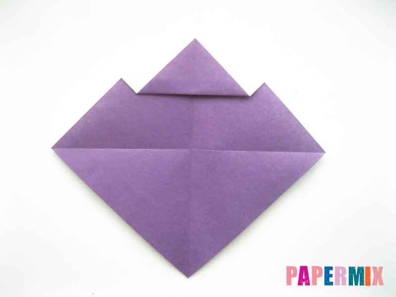 Как сделать корабль из бумаги (оригами) своими руками - шаг 4