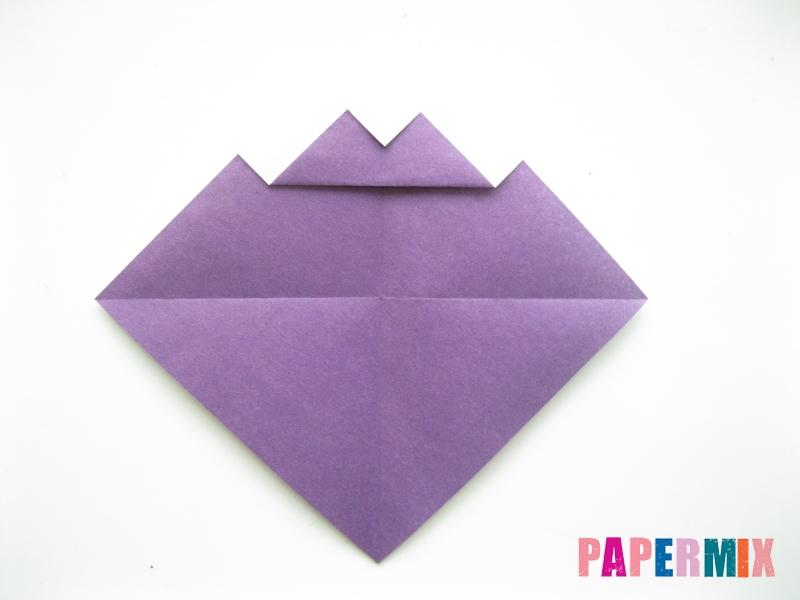 Как сделать корабль из бумаги (оригами) своими руками - шаг 5