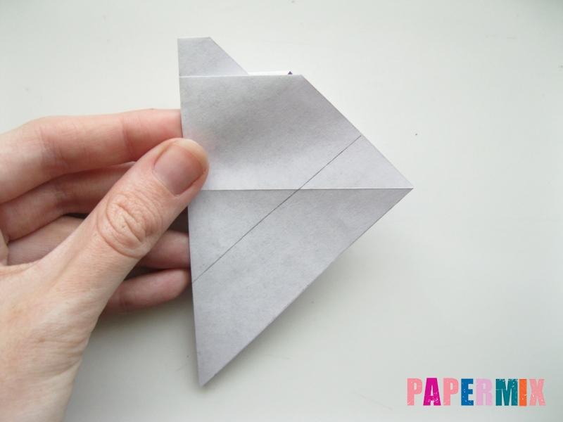 Как сделать корабль из бумаги (оригами) своими руками - шаг 6