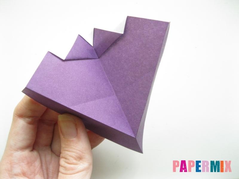 Как сделать корабль из бумаги (оригами) своими руками - шаг 8