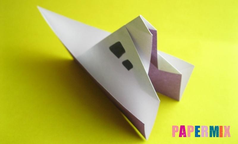 Как сделать корабль из бумаги в технике оригами своими руками поэтапно