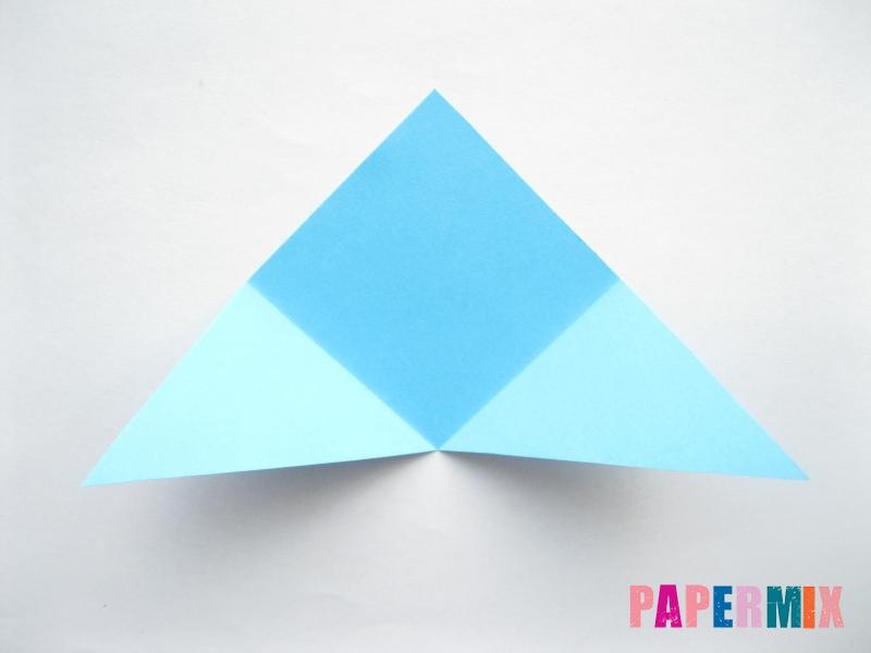 Как сделать парусник из бумаги (оригами) поэтапно - шаг 5