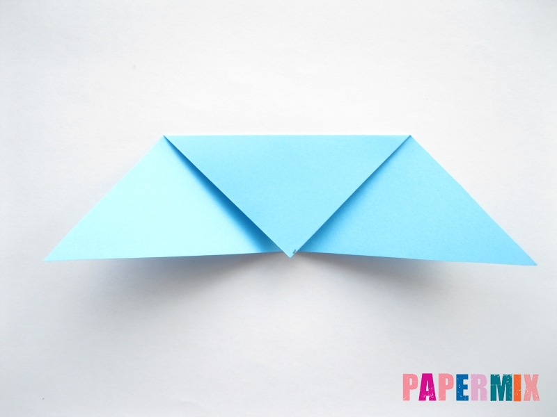Как сделать парусник из бумаги (оригами) поэтапно - шаг 6