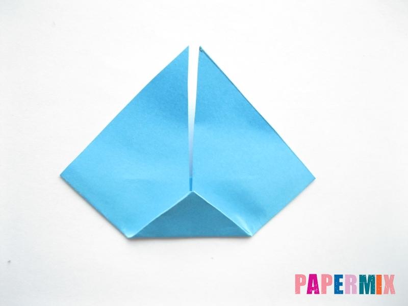 Как сделать парусник из бумаги (оригами) поэтапно - шаг 8