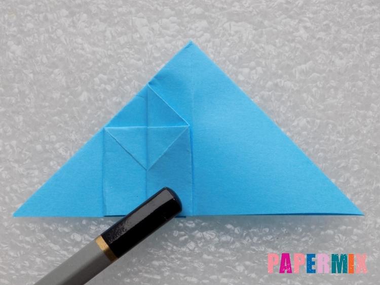 Как сделать ракету из бумаги поэтапно - шаг 12
