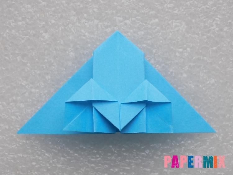 Как сделать ракету из бумаги поэтапно - шаг 15