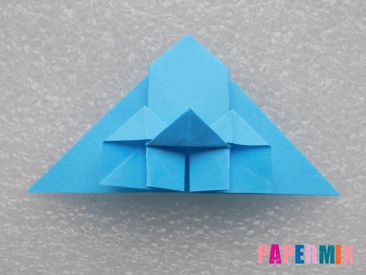 Как сделать ракету из бумаги поэтапно - шаг 16
