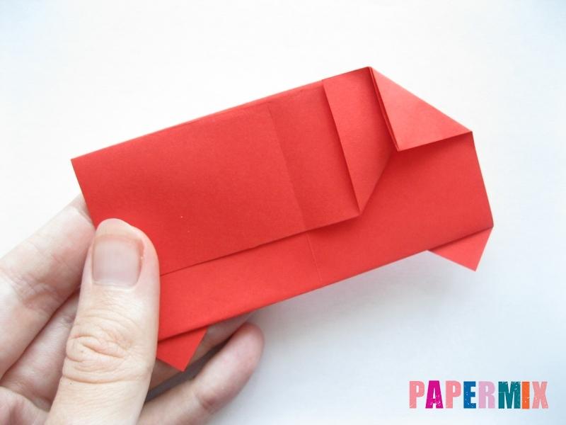Как сделать самосвал из бумаги (оригами) своими руками - шаг 10